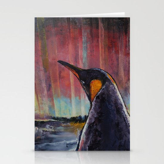 Penguin Stationery Card