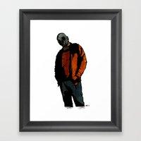 Casual Mercenary Framed Art Print