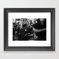 Swat Patrol Framed Art Print