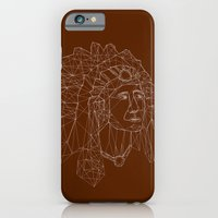 native american iPhone & iPod Cases featuring native american by johanna strahl