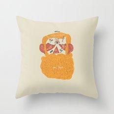 Der Bart Throw Pillow