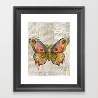 Gorgeous Butterfly Framed Art Print