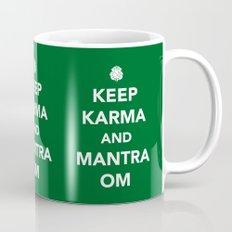 Keep Karma And Mantra Om Mug
