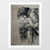 The Fury Of Love Art Print