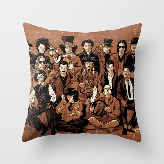 Depp Perception Throw Pillow