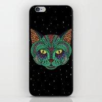 Intergalactic Cat iPhone & iPod Skin