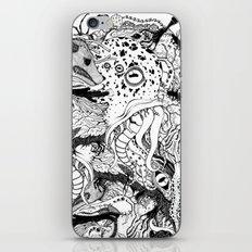 Mr Lovercraft's monsters iPhone & iPod Skin