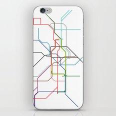 London tube iPhone & iPod Skin
