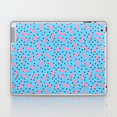 Pink Banana Peel on Baby Blue /// www.pencilmeinstationery.com Laptop & iPad Skin