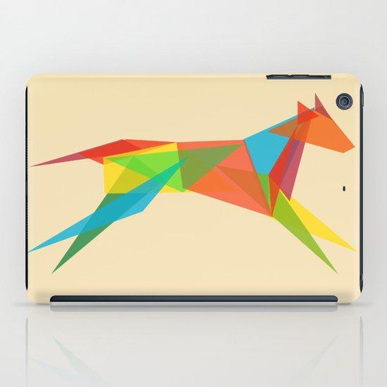 Fractal Geometric Dog iPad Case