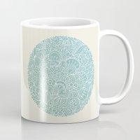 Detailed circle Mug