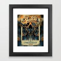 Skullriosity Framed Art Print
