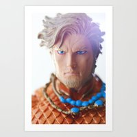 King of Atlantis Art Print