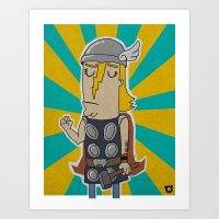 004_thor Art Print