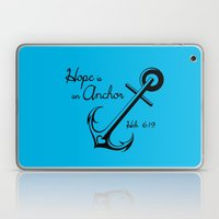 Hope Is An Anchor Laptop & iPad Skin