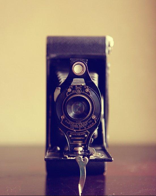 The Vintage Camera Art Print