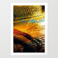 Yellow Brick Road Art Print