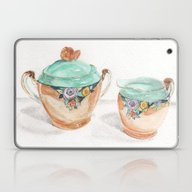 Sugar And Creamer Laptop & iPad Skin