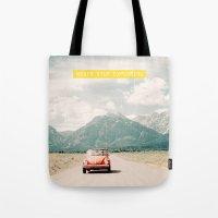 NEVER STOP EXPLORING V -… Tote Bag