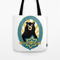 Strength Of The Bear! Tote Bag