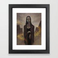 Personal Death Framed Art Print