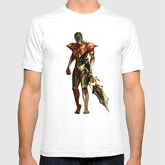 Green Ranger Mens Fitted Tee White SMALL