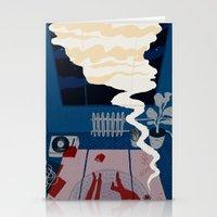 Midnight Talk Stationery Cards