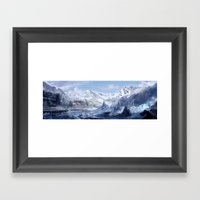 Welcome To Alaska  Framed Art Print