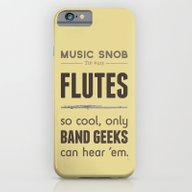 MORE Flutes — Music Sn… iPhone 6 Slim Case