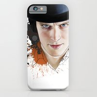 iPhone & iPod Case featuring Clockwork orange by VikaValter