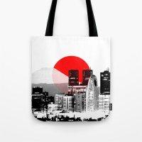 Modern Japan - Tokyo - Shinjuku Tote Bag