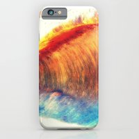 iPhone & iPod Case featuring Rainbow Wave by Tanella