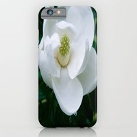 iPhone & iPod Case featuring Magnolia Flower by kyleray3000