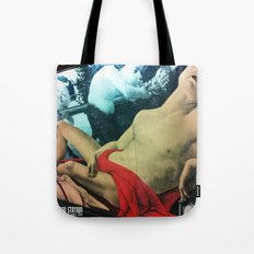 A QUICK SHOT AT :: LONDON UNDERGROUND STATION Tote Bag