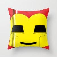 Adorable Iron Throw Pillow