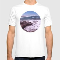 Breath Mens Fitted Tee White SMALL