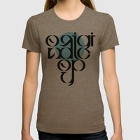 Original Copy Womens Fitted Tee Tri-Coffee SMALL