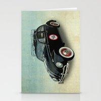 Number 46 -VW Beetle Stationery Cards