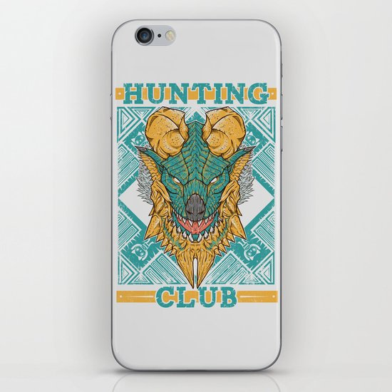 Hunting Club: Jinouga iPhone & iPod Skin