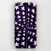 Star Gazing iPhone & iPod Skin
