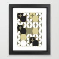 Deco Blocks Framed Art Print