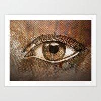 Refracted Canvas Art Print