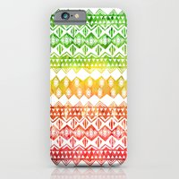 One Love Tribal {white} iPhone 6 Slim Case