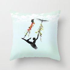 Voladora Throw Pillow