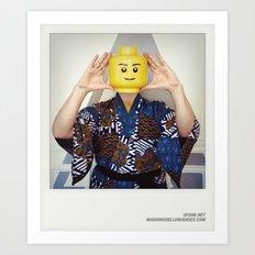 Minifig me ! – Everyone has a LEGO piece inside - 4 Art Print