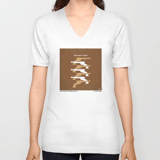 No197 My The Magnificent Seven minimal movie poster  V-neck T-shirt