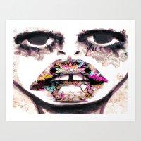 Born To Be Exteriorly Ug… Art Print