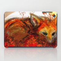 Fox in Sunset III iPad Case