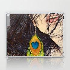 Feather Girl Laptop & iPad Skin