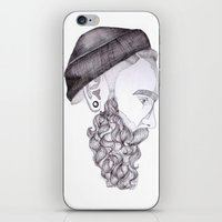 beard's dream  iPhone & iPod Skin